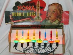 Vintage Bubble Lights