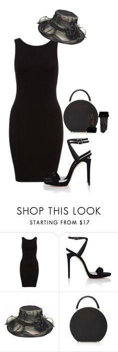 """""""All Black Party"""" by mikamik on Polyvore featuring Giuseppe Zanotti, BUwood and Barneys New York"""