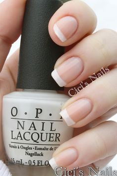 The Perfect French Manicure