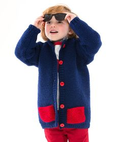 Too Cool Boy's Cardi