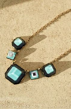 Statement necklace for summer