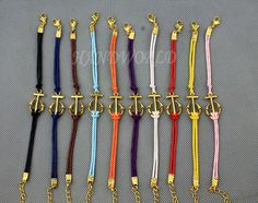 Infinity Wish Bracelet Golden Anchor Bracelet Best by handworld, $1.59