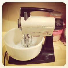 .....My mom's Sunbeam mixer.