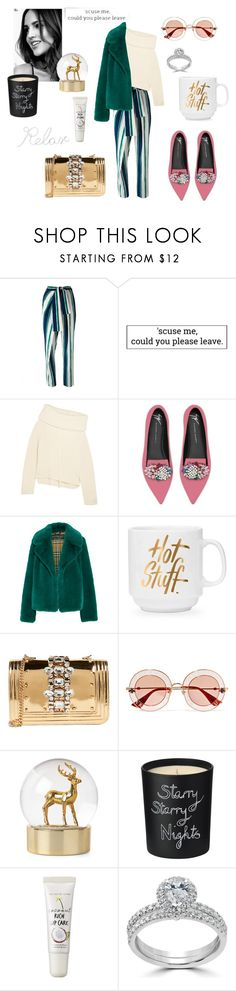 """Cosy💋"" by gloriatovizi on Polyvore featuring Chloé, Joseph, Giuseppe Zanotti, Burberry, GEDEBE, Gucci, Bella Freud, too cool for school, Bliss Diamond and PBteen"