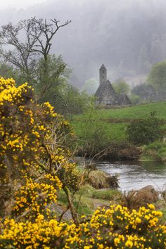 St. Kevin's Church, Glendalough, County Wicklow, Ireland