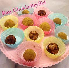 Raw Chokladtryffe