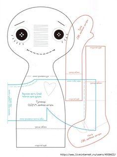Мастер-класс по изготовлению куклы Реггеди Энн (Raggedi Ann).. Обсуждение на LiveInternet - Российский Сервис Онлайн-Дневников