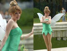 Cute Tinkerbell cosplay