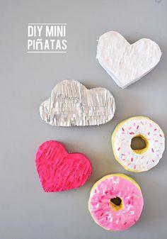 DIY Mini Pinatas!