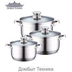 """Кастрюли 15776 """"PH"""" (x4) http://vsevsevse.com/posuda-dlya-prigotovleniya-ru/posuda/nabory-kastryul/kastryuli-15776-ph-x4/  Цена: Р2062.50"""