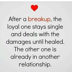 So true  - after the separation/divorce I am still the one left holding the bag after all these years.....He left to live his life & I of course stayed and am raising the family he abandoned.