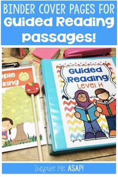 , Guided Reading Binder Covers , Get your guided reading passages organized once and for all! This resource includes a cover page for guided reading levels D-P. These levels correspon. Guided Reading Binder, Guided Reading Organization, Guided Reading Levels, College Organization, Reading Comprehension Activities, Reading Passages, Shared Reading, Close Reading, Barrel Of Monkeys
