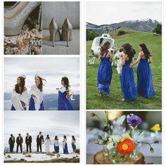 blue winter wedding dress abiti cerimonia blue matrimonio natale