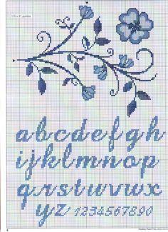 Resultado de imagem para script alphabet for X stitch Cross Stitch Thread, Cross Stitch Art, Cross Stitch Borders, Cross Stitch Flowers, Cross Stitching, Cross Stitch Embroidery, Cross Stitch Alphabet Patterns, Embroidery Alphabet, Cross Stitch Letters