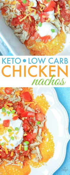 Make delicious keto nachos with chicken in the slow cooker. These low carb nachos are delicious and use cheddar cheese crisps instead of traditional tortilla chips. Add your favorite toppings like…More 15 Guilt Free Keto Friendly Chicken Crockpot Recipes Ketogenic Recipes, Keto Recipes, Cooking Recipes, Healthy Recipes, Ketogenic Diet, Healthy Foods, Paleo Meals, Bariatric Recipes, Snacks Recipes