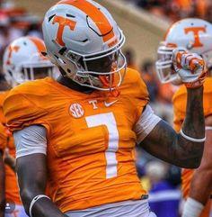 University of Tennessee Volunteers Football Uniform