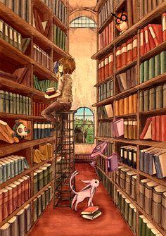 Pokemon Library!!