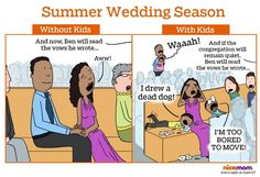 With Kids vs. Without Kids: Summer Wedding Season