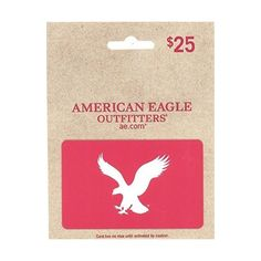 Amazon.com: American Eagle Outfitters Holiday $25 Gift Card: Gift... ($25) ❤ liked on Polyvore featuring gift cards and gifts
