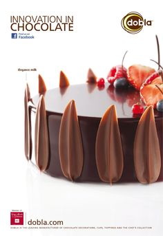 Find images and videos about sweet, chocolate and dessert on We Heart It - the app to get lost in what you love. Death By Chocolate, I Love Chocolate, Chocolate Art, Chocolate Lovers, Chocolate Desserts, Making Chocolate, Fancy Desserts, Fancy Cakes, Cake Cookies