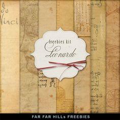 Far Far Hill: New Freebies Kit of Backgrounds - Leonardo