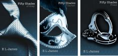 The trilogy I'm reading at the moment. By E L James