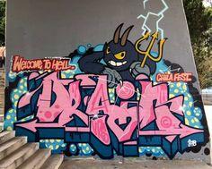 WELCOME TO HELL #graffiti#sunday#graffitiart
