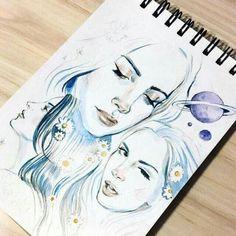 Lana Del Rey 'Love' art by Arthur Shahverdyan