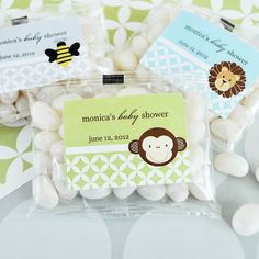 "Wouldn't these also be great for a First Birthday Party ""Thank You's"" to your guests!"