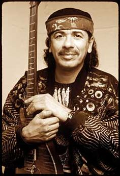 Carlos Augusto Alves Santana is a Mexican and American musician. He became famous in the late 1960s and early 1970s with his band, Santana, which pioneered rock, Latin music and jazz fusion.
