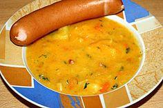 Sächsische Kartoffelsuppe