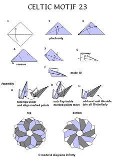 Celtic Motif 23 diagrams