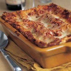 Cooking light lasagna recipes