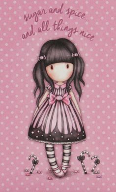Gorjuss Little Doll, Little Girls, Love Pink Wallpaper, Illustrations, Graphic Illustration, Santoro London, 3d Model Character, Beautiful Sketches, Holly Hobbie