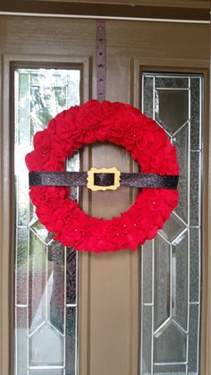 A personal favorite from my Etsy shop https://www.etsy.com/listing/252720522/santa-claus-wreath-santa-claus-belt