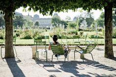 Afternoon at Tuileries gardens, Paris