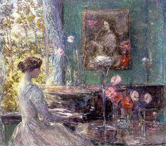Childe Hassam - Improvisation, 1899