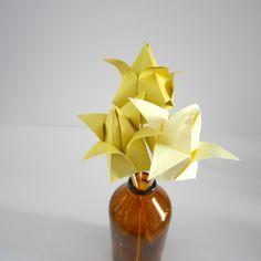 Origami Tulips @ Fold You So!