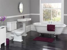 corner tub bathroom pictures | Stylish Stunning Bathroom Decoration Idea with Freestanding Tub ...