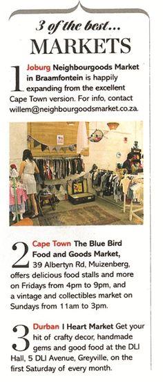 blue bird garage food and goods market Food Stall, Cape Town, Blue Bird, Garage, Marketing, Beach, Places, Life, Carport Garage