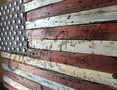 Wooden Flag, Barn Wood American Flag, Wooden American Flag, Wood American Flag … Source by lizardloon Pallet Flag, Wood Flag, Pallet Barn, Pallet Wood, Wooden American Flag, American Art, Barn Wood Projects, Project Projects, Vinyl Projects