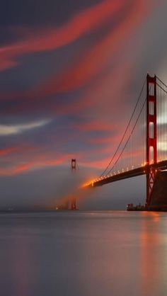Golden Gate Bridge Sunset San Francisco California #sanfrancisco #sf #bayarea #alwayssf #goldengatebridge #goldengate #alcatraz #california