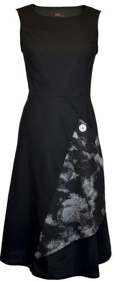 Love the pocket bellow! Online Clothing Boutiques, Japanese Fashion, Sewing Clothes, Pretty Dresses, Dress Skirt, Dress Outfits, Metal Buttons, Clothes For Women, My Style