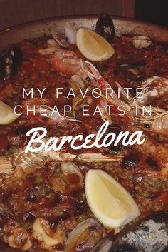 An article about my favorite low budget but super delicious restaurants in Barcelona. Make sure to check them out!