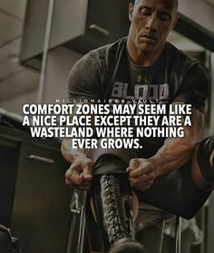 No fun found in a comfort zone #grow #motivate