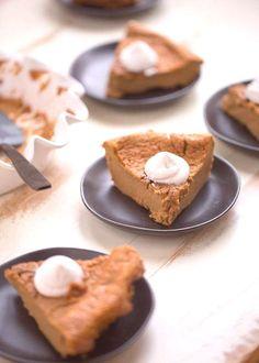 #pumpkinpiecheesecake #thanksgiving #crustless #everyone #refined #classic #contain ...
