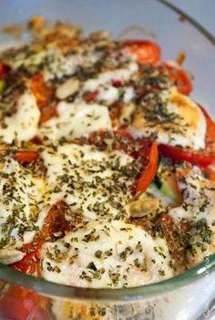 Poulet Tomates Mozzarella