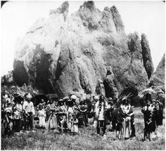 Ute Indians ~ Shan Kive ~ Garden of the Gods Colorado Springs, Colorado ~ 1912