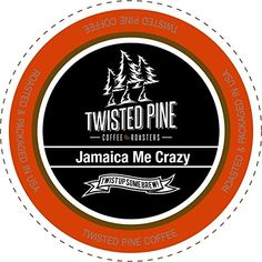 Twisted Pine Coffee Jamaica Me Crazy, Flavored Coffee, Single-Serve Cups for Keurig K-Cup Brewers, 80 Count *** More info could be found at the image url.