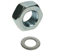 M10 Stainless Nuts & Washers Sets of 10